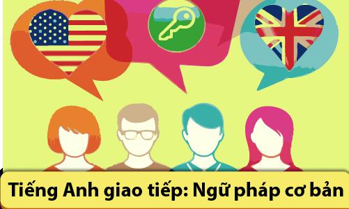 Tiếng Anh giao tiếp: Ngữ pháp cơ bản