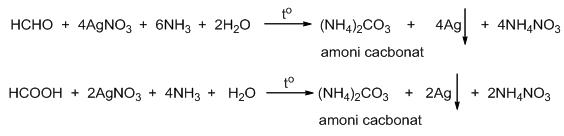 Oxi hóa 6 gam metanal bằng oxi (xúc tác) sau một thời gian được 8 ...